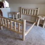 Mix-n-Match Designs: Pine Single Rail Bed+Pine Open Nightstands