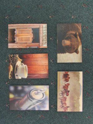Sm Cedar Art Post Cards b