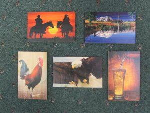 Sm Cedar Art Post Cards c