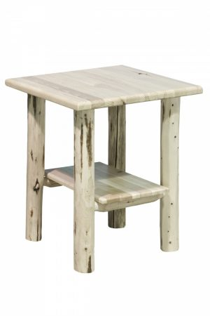 Cascade No Drawer Nightstand (Clear)