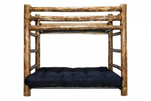 Glacier Twin/Full Futon Bunk Bed