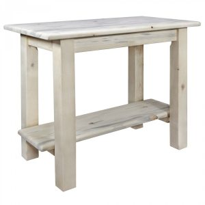 Homestead Console Table No Drawer (Clear)