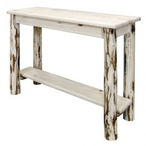 Shelf Only Console Table Cascade (Clear)
