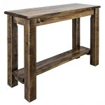 Console Table Shelf Only Homestead (stained)