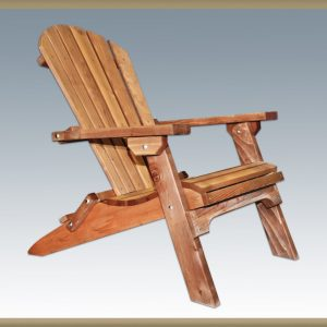 Adirondack Chair Exterior Finish (Stained)