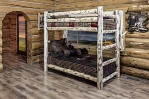 Cascade Twin/Twin Bunk Bed (Clear)