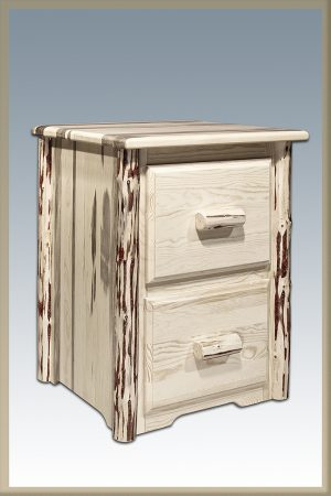 Cascade 2 Drawer File Cabinet (Clear)