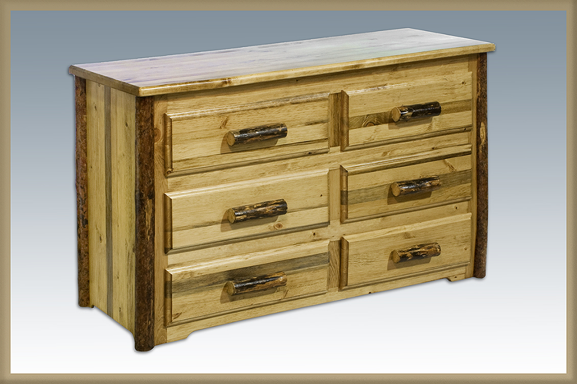 Glacier 6 Drawer Dresser