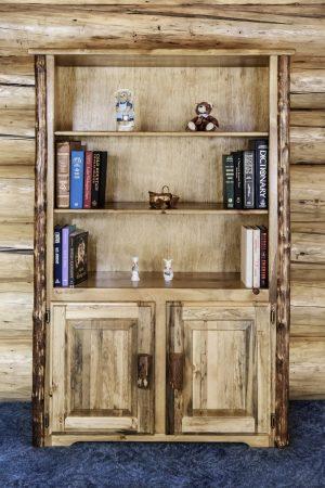 Glacier Bookcase w/ Storage