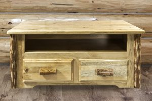 Glacier Two Drawer Coffee Table