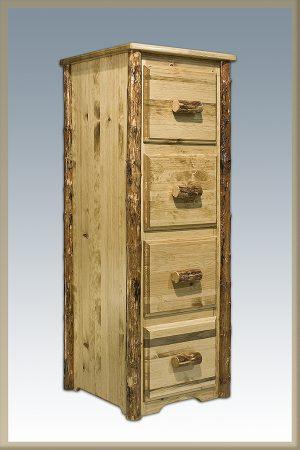Glacier 4 Drawer File Cabinet