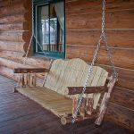 Glacier Porch Swing Exterior Finish