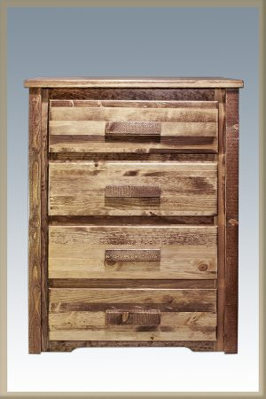 Homestead 4 Drawer Dresser (Stained)