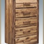 Homestead 5 Drawer Dresser (Stained)