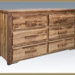 Homestead 6 Drawer Dresser (Stained)