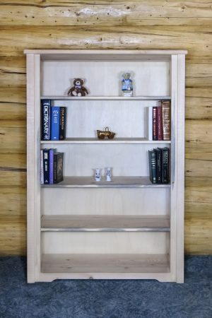 Homestead Bookcase (Clear)