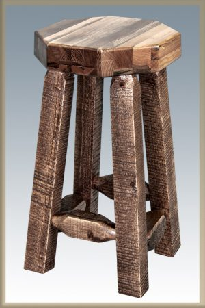 Homestead Barstool No Back (Stained)