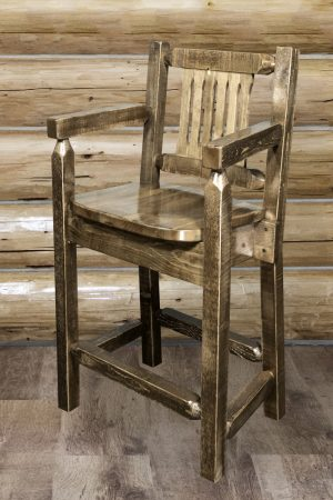 Homestead Captain's Barstool (Stained)