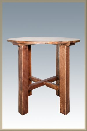 Homestead Bistro Table (Stained)
