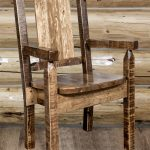 Homestead Capatain's Chair STAINED