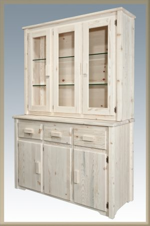 Homestead China Hutch (Clear)
