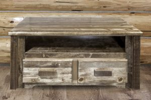 Homestead Two Drawer Coffee Table (Stained)