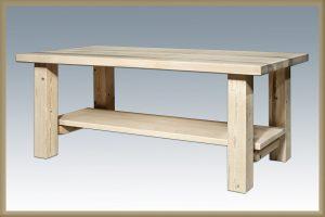 Homestead Coffee Table (Clear)