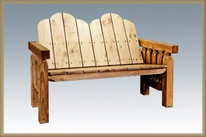 Homestead Deck Bench Exterior Finish (Stained)