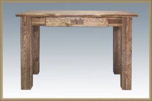 Homestead Writing Desk (Stained)