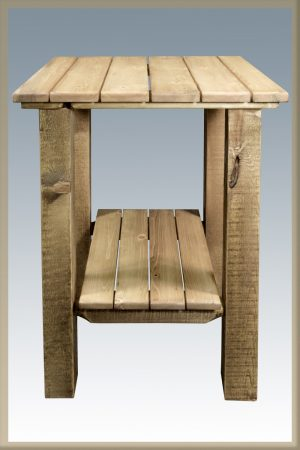 Homestead Patio End Table Exterior Finish (Stained)
