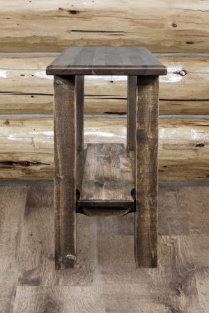 Homestead Narrow End Table (Stained)