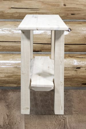 Homestead Narrow End Table (Clear)