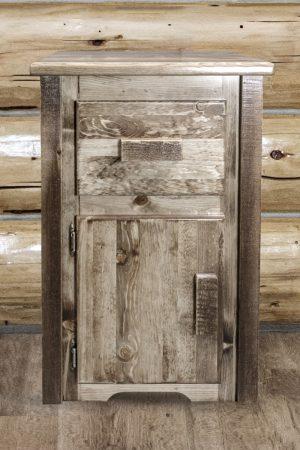 Homestead Nightstand w/ Drawer & Door (Stained)