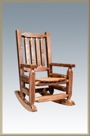 Homestead Child's Rocker (Stained)