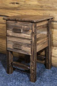 Homestead 2 Drawer Nightstand (Stained)