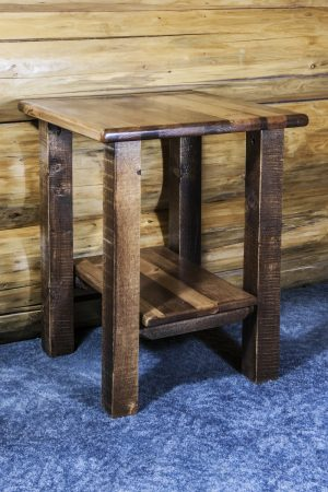 Homestead No Drawer Nightstand (Stained)