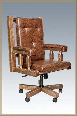 Homestead Office Chair (Stained)