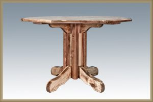Homestead Single Pedestal- Octagonal (Stained)
