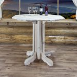 Homestead Pub Table - Octagonal (Clear)