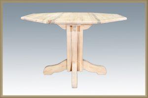 Homestead Single Pedestal- Octagonal (Clear)
