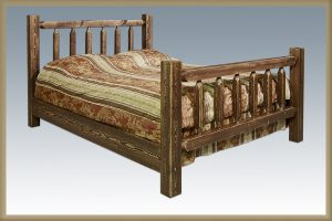 Homestead Spindle Bed (Stained)