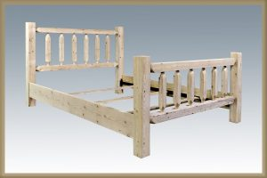 Homestead Spindle Bed (Clear)