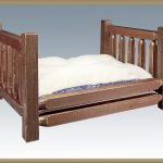 Homestead Pet Bed STAINED
