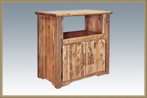Homestead Utility Cabinet (Stained)