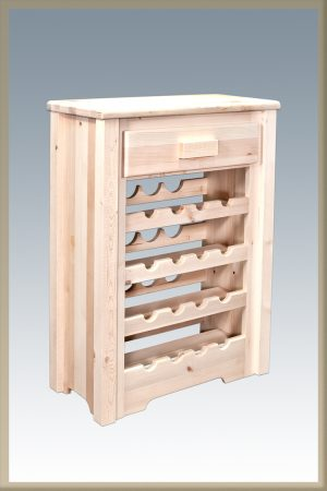 Homestead Wine Cabinet (Clear)
