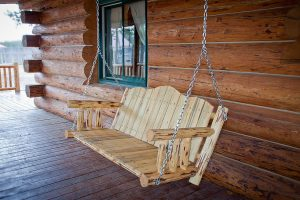Cascade Porch Swing Exterior Finish (Stained)
