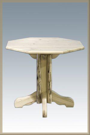 Cascade Pub Table - Octagonal (Clear)