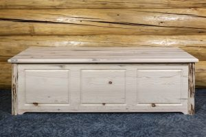 Cascade Blanket Chest Large (Clear)