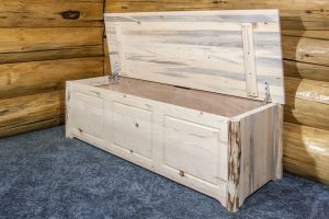 Cascade Blanket Chest OPEN Large (Clear)