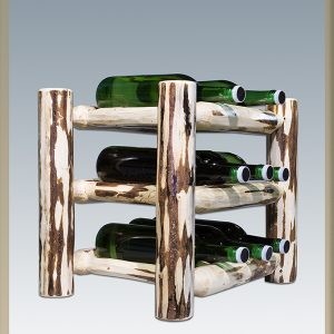 Cascade Countertop Wine Rack (Clear)